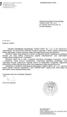 ambasada referencje