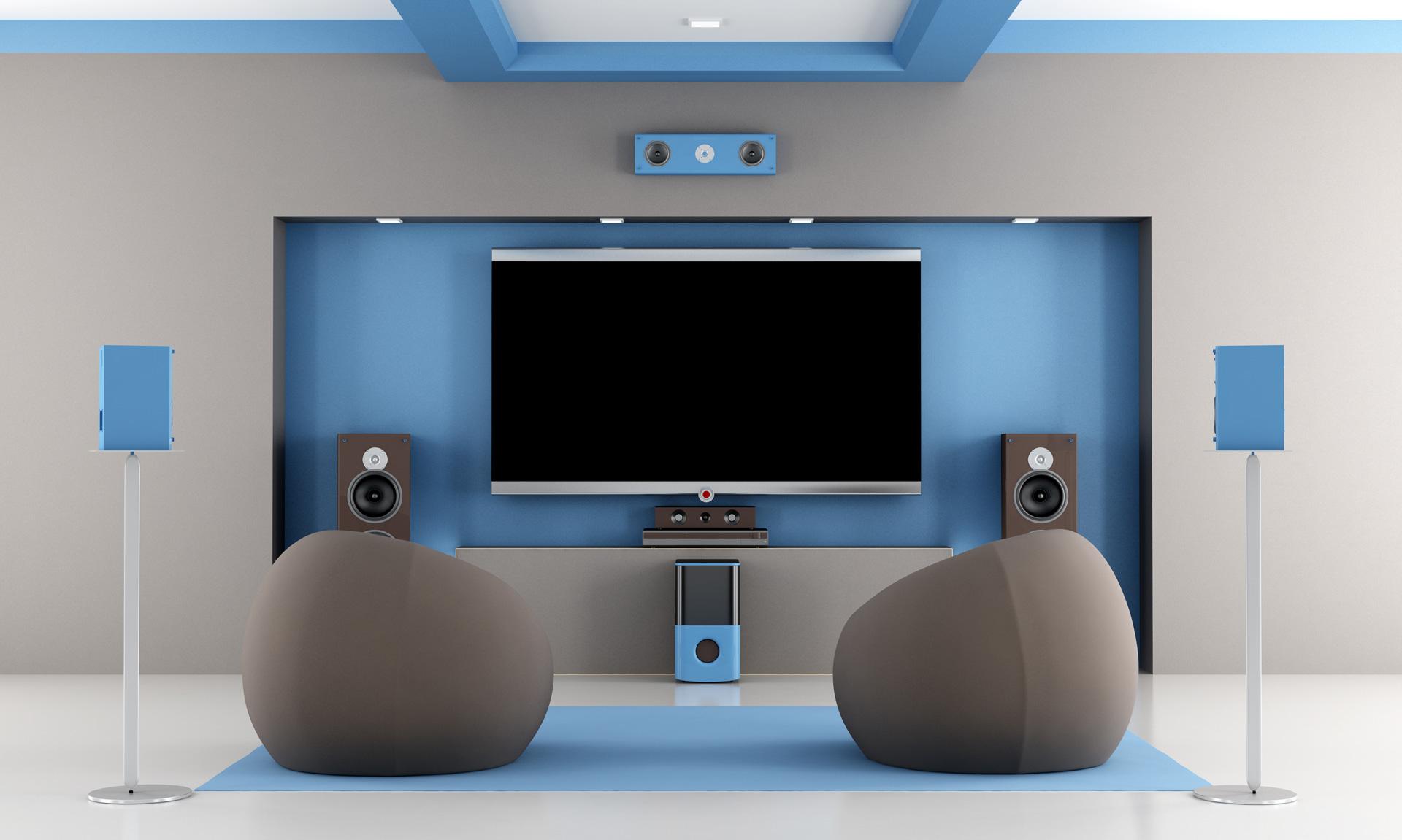 montaz i instalacja kina domowego